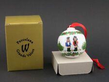 Porcelana Grande Valore Weihnachtskugel Kugel Nussknacker in der ovp