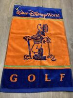 Disneyland Resort Walt Disney World Goofy Golf Towel blue orange