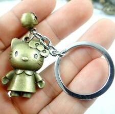 Creative Key Chain Ring Keyring Metal Keychain Gift Tool Hello Kitty Pendant D28