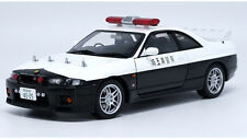 1:18 AUTOart Nissan GT-R R33 Police Car Die Cast Model