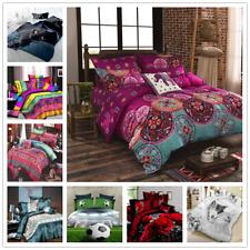 New Design Bedding Set Pillowcase 3D Digital Print Duvet Cover King Queen3pieces