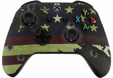 American Flag Xbox One S / X Rapid Fire Modded Controller for COD WW2  &more