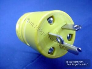 Woodhead 5-20 Straight Blade Plug 20A 125V 1433