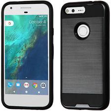 "2-Layer Hybrid Cover Carry Case GOOGLE Verizon Pixel Phone HTC Nexus S1 (5.0"")"