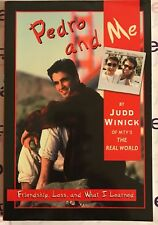 PEDRO AND ME (2000 First Edition) NEW Pedro Zamora Judd Winick TPB
