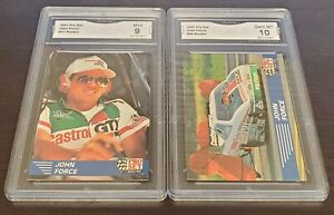 GMA 9 & 10 1991 JOHN FORCE PRO SET RC CARDS WHTF LOOK