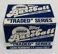1988 Topps Traded Baseball Set