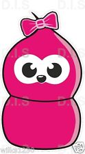 1 pink zingy gas sticker, Fun Car Decals Motorcycle vw Nissan van bus truck