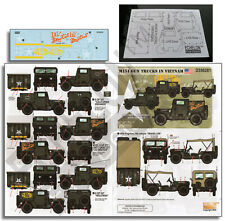 Echelon D356281 1/35 M151 Gun Trucks in Vietnam