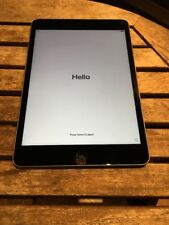 Apple iPad Mini 4 A1538 16 GB Wifi Nero/Grigio Spazio problema software