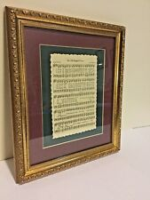 Home & Garden Party The Old Rugged Cross Picture Music Notes Wall Hanging