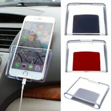 Sticky Dashboard Hanging Phone Storage Box Transparent Car Mobile Phone Holder b