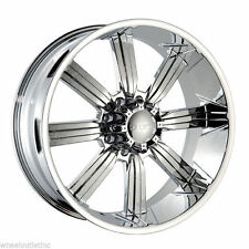 "30"" Dcenti 903 Chrome 8 lug Wheels Rims Hummer H2 Chevy Dodge 2500 26 28 24 22"