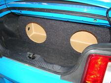 "2005-2014 Mustang CONVERTIBLE 2-12"" SUB BOX Subwoofer Enclosure ZEnclosures*****"
