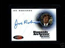 James Bond Complete A61 Joe Robinson  auto card