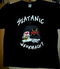 Slayer Slatanic Wehrmacht Pre Worn T-Shirt Size 2 X Large Kerry King Very Cool