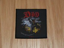 DIO - HOLY DIVER (NEW) SEW ON W-PATCH OFFICIAL BAND MERCHANDISE