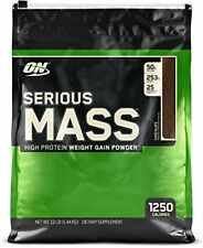 12lb Weight Gain Protein Powder, Muscle Mass Fitness Nutrition Calorie Chocolate