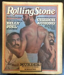 Rolling Stone #280 14th Dec 1978 Billy Joel Free UK P&P Music Magazine
