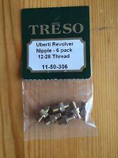 Treso Ampco Nipples Uberti Revolver set Nipples 12-28 threads 11-50-306