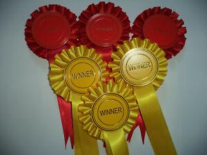 Winner Rosettes