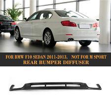 Carbon Fiber Rear Bumper Diffuser Fit for BMW F10 Sedan 5-Series 528i 535i 550i