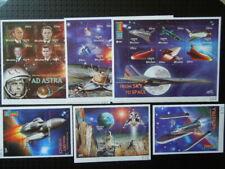 G387 STAMPS GUYANA 2000 SPACE  7 X  SOUVENIR  SHEETS  MNH