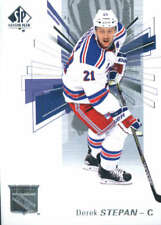 (HCW) 2016-17 Upper Deck SP Authentic #21 Derek Stepan NY Rangers