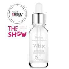 9Wishes - Perfect Ampule Serum #White 25ml For Dull Skin Condition [Usa Seller]