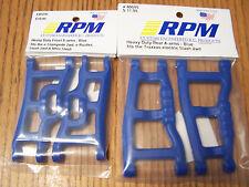 RPM 80245 Front & 80595 Rear Blue A-Arms 1/10 Traxxas Slash 2wd VXL XL-5 Raptor