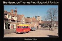 Postcard 1970s Henley On Thames to Frieth Royal Mail Postbus at Hambleden 33X