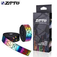 ZTTO Gravel Bike Reflective Bar Tape bike colorful Handlebar tape Wear-resistant