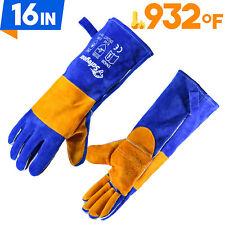 Safeyear Safety Work Gloves Heatfire Resistant Tig Welder Bbq Pot Holder Stove