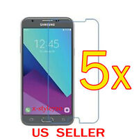 5x Clear Screen Protector Guard Cover Film For Samsung Galaxy J3 Prime (2017)