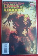 Deadpool Cable Fantastic Four 46 Zombie Variant High Grade