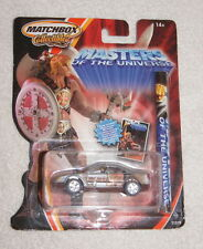 Matchbox die cast car - Masters of the Universe He Man with poster (2002)