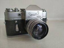 ULTRA RARE Zenit-3 (NOT 3M) + Jupiter-8 lens   1961   KMZ   SLR   S№ 61003993