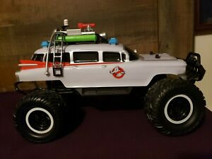 Ghostbusters ECTO-1 4x4 Monster Truck R/C 35th Year Anniversary Jada Toys