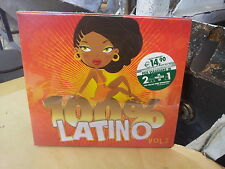 100% latino vol II CD  nuovo celophanato