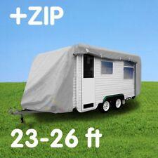 Caravan cover with zip:  23-26 ft