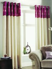 Polyester Country Eyelet Top Curtains
