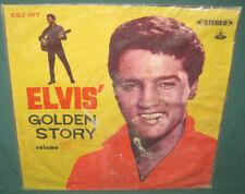 Elvis Presley Golden Story Volume 1 LP Taiwan Original 1960's Translucent Vinyl
