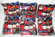 MARVEL SPIDER-MAN HOMECOMING COLLECTORS KEYRING LOT OF (6) RANDOM NEW PACKS
