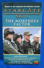 2001 Stargate Sg-1/Morpheus Factor by Ashley McConnell Paperback 1st Roc Vf+