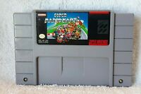 Super Mario Kart (Super Nintendo, 1992) SNES AUTHENTIC CLEANED & TESTED