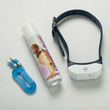Stop Barking Citronella Dog Collar Anti No Bark Train Mist Spray USB Charger