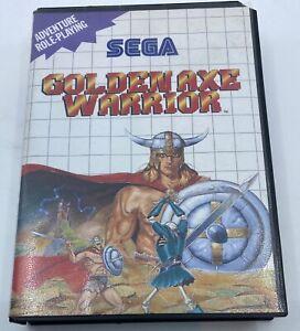 Golden Axe Warrior Missing manual