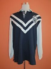 Tommy Hillfiger Mens Size XL Navy Blue Rugby Shirt