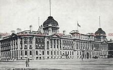 Royal Navy Postcard. The Admiralty Building (Extension). London. c 1907