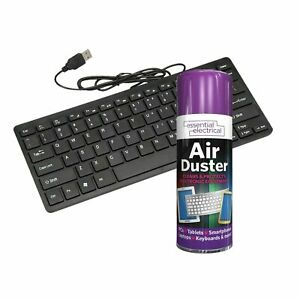 Air Duster Compressed Spray 200ML Cleans Laptops Keyboard Computers Mobile NEAT